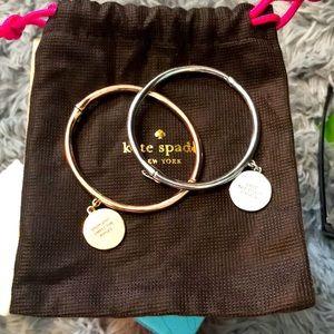 Kate spade 2 pair bracelet sale